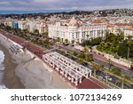 nice  march  12 2018  france ... | Shutterstock . vector #1072134269