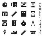 flat vector icon set  ... | Shutterstock .eps vector #1072140911