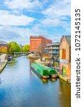 nottingham  united kingdom ... | Shutterstock . vector #1072145135