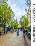 nottingham  united kingdom ... | Shutterstock . vector #1072145141