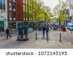nottingham  united kingdom ... | Shutterstock . vector #1072145195
