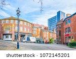 nottingham  united kingdom ... | Shutterstock . vector #1072145201