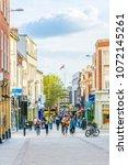 lincoln  united kingdom  april... | Shutterstock . vector #1072145261