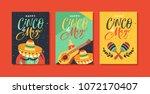 cinco de mayo festival greeting ... | Shutterstock .eps vector #1072170407