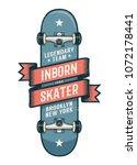 Authentic Skateboarding Logo I...