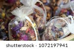 Dried Flowers Colorful In Cloth ...