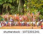 kanchanaburi  thailand  ... | Shutterstock . vector #1072201241