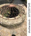 a water well in riza castle | Shutterstock . vector #1072207145