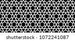 hexagon pattern tattoo.... | Shutterstock .eps vector #1072241087