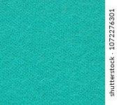 cyan boiled wool or wool felt... | Shutterstock . vector #1072276301