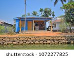 Small photo of A stationery shop on the banks of backwaters in kerala.