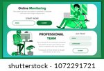 horizontal banners website...