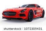 Mercedes Benz Sls Red. Three...