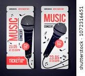 vector illustration music... | Shutterstock .eps vector #1072316651
