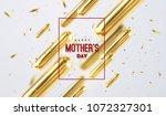 happy mothers day. vector... | Shutterstock .eps vector #1072327301