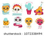 beautiful vector illustrations... | Shutterstock .eps vector #1072338494