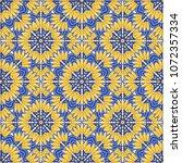 seamless oriental ornamental... | Shutterstock .eps vector #1072357334