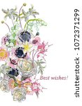 series of greeting backgrounds... | Shutterstock .eps vector #1072371299