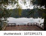 banlung cambodia  view of yeak... | Shutterstock . vector #1072391171