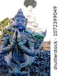 beautiful thai style angel...   Shutterstock . vector #1072399049