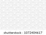 semi circle vector pattern.... | Shutterstock .eps vector #1072404617