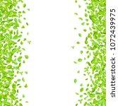 vector fresh spring green... | Shutterstock .eps vector #1072439975