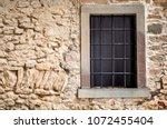 Barred Window. Old Barred...