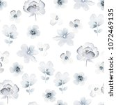 floral seamless pattern with... | Shutterstock .eps vector #1072469135