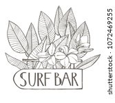 surf bar. composition this...   Shutterstock .eps vector #1072469255