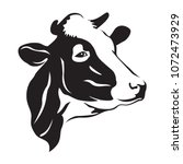 cow head stylized symbol  cow...   Shutterstock .eps vector #1072473929