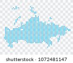 abstract blue map russia of...   Shutterstock .eps vector #1072481147
