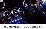 close up car ventilation system ...   Shutterstock . vector #1072486859