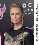 los angeles   apr 18   charlize ...   Shutterstock . vector #1072507679