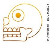 degraded line miquizhi death... | Shutterstock .eps vector #1072508675