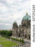 berlin cathedral   berliner dom ... | Shutterstock . vector #107251265
