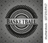 basketball black emblem | Shutterstock .eps vector #1072515917