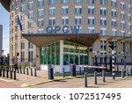 the hague  the netherlands ... | Shutterstock . vector #1072517495