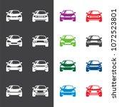 car icon logo design vector | Shutterstock .eps vector #1072523801