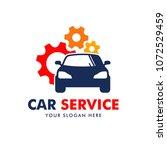 car service logo design vector | Shutterstock .eps vector #1072529459