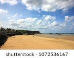 arromanches les bains in... | Shutterstock . vector #1072536167