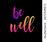 abstract rainbow card... | Shutterstock .eps vector #1072539071