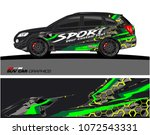 car graphic. abstract lines for ... | Shutterstock . vector #1072543331