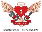 vector banner with the... | Shutterstock .eps vector #1072556129