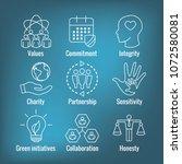 social responsibility outline... | Shutterstock .eps vector #1072580081