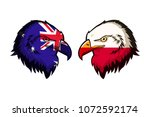 australia vs poland | Shutterstock . vector #1072592174