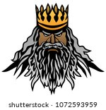 king vector illustration | Shutterstock .eps vector #1072593959