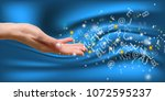numerology is far more than just | Shutterstock . vector #1072595237