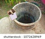 groundwater wells in... | Shutterstock . vector #1072628969
