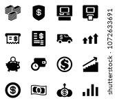 solid vector icon set   big...   Shutterstock .eps vector #1072633691