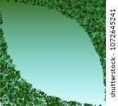 clover green is a confetti... | Shutterstock .eps vector #1072645241